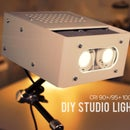 DIY 10000 Lumen LED Studio Light (CRI 90+)