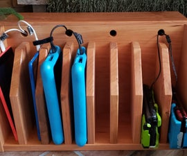 Tablet Organizer/Charging Station