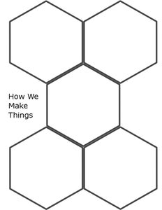 Printing Off the Hexagons