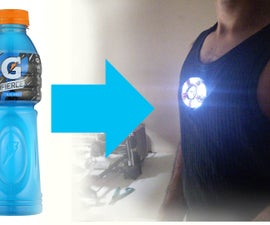 Easy Arc Reactor From a Gatorade Bottle!