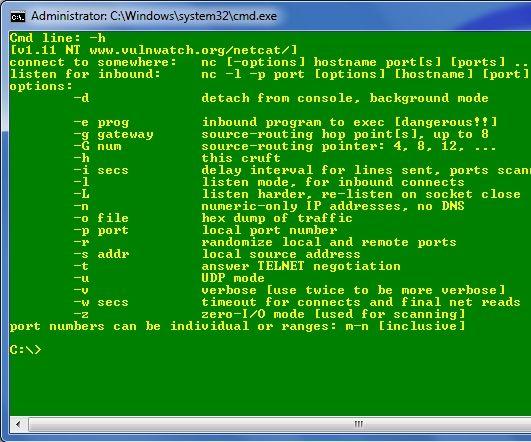 Simple Netcat Backdoor: 8 Steps