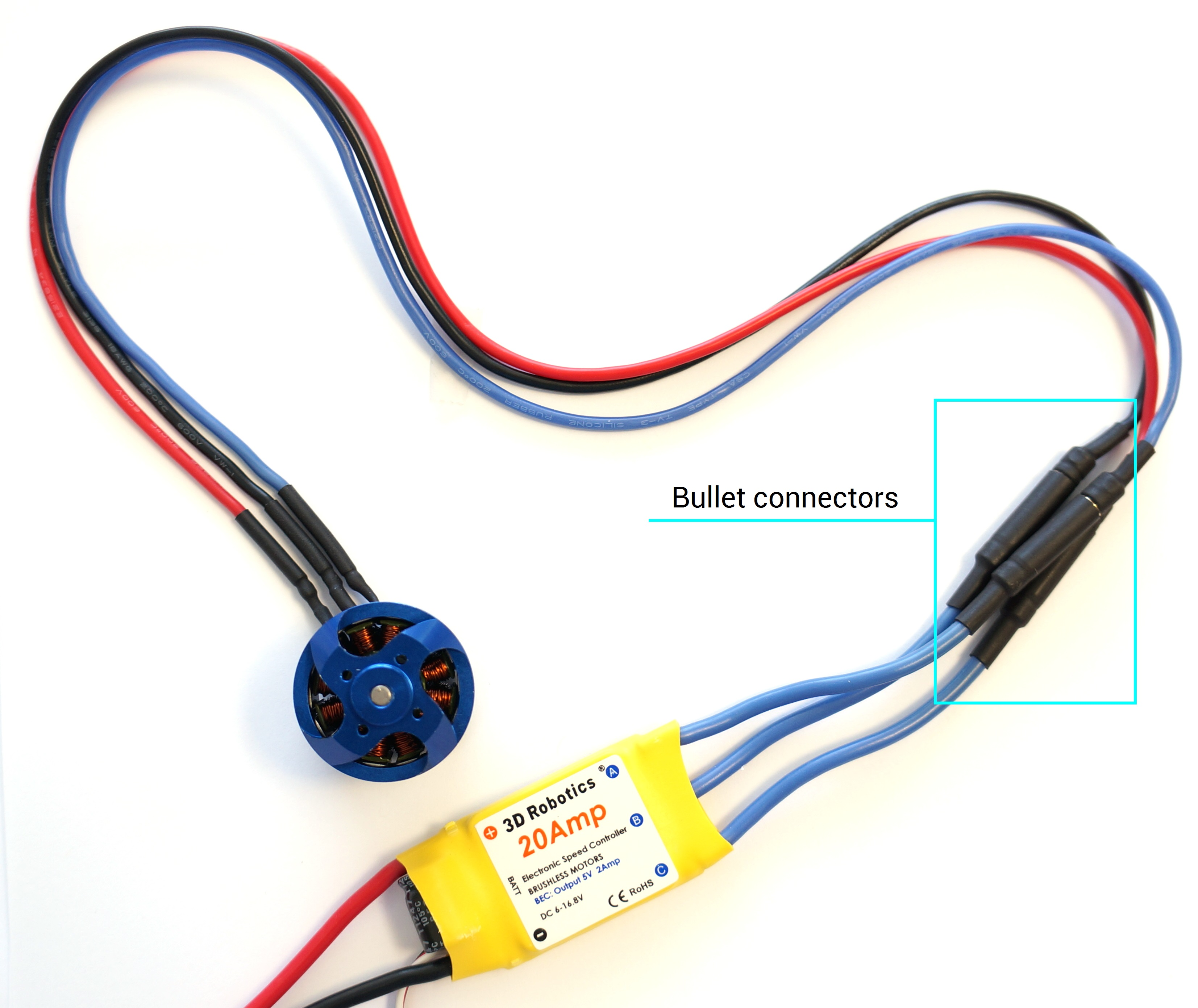 esc to motor wiring esc image wiring diagram beginners guide to connecting your rc plane electronic parts 11 steps on esc to motor wiring