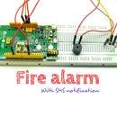 SMS fire alarm