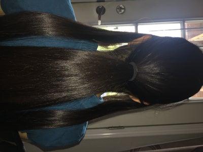 Seprate the Hair
