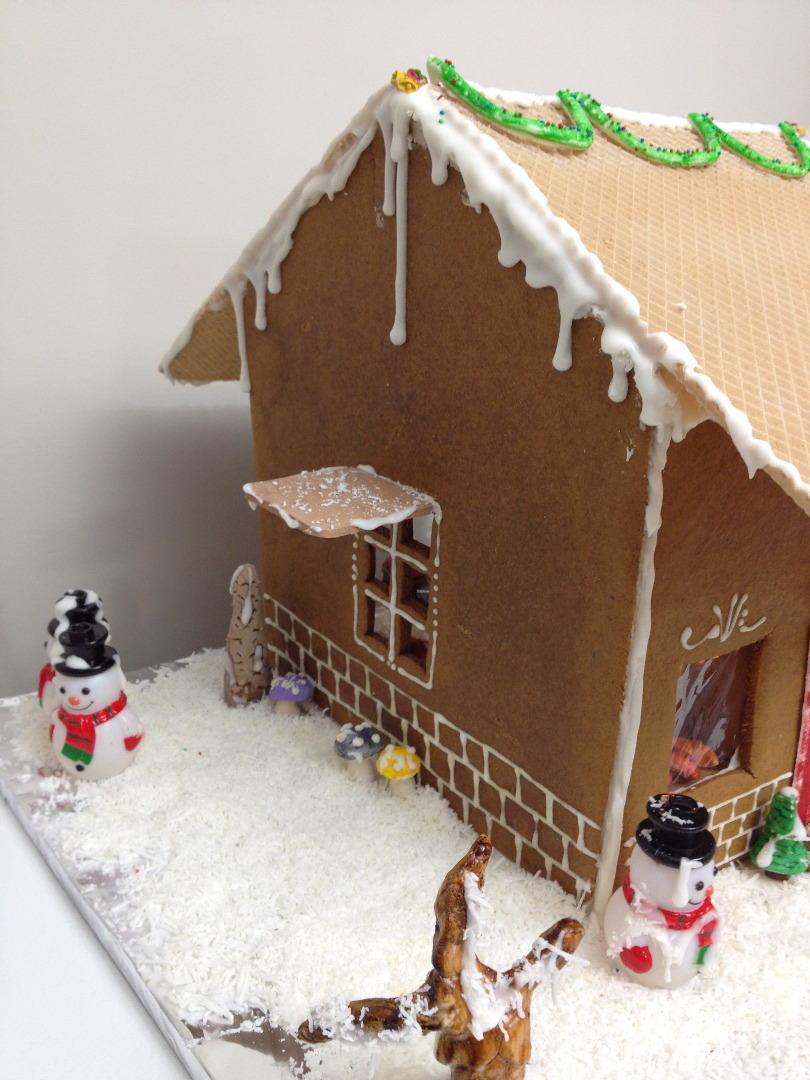 Picture of Lighted Gingerbread Bakery