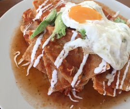 Mexican Delight: Chilaquiles