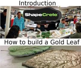 Introduction to ShapeCrete (making a basic leaf print)