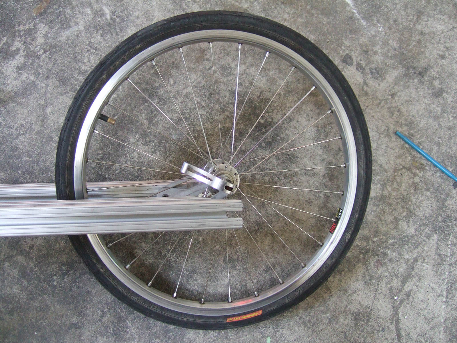 Picture of Front Dropouts and Brake