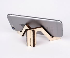 Laser Cut Smart Phone Stand