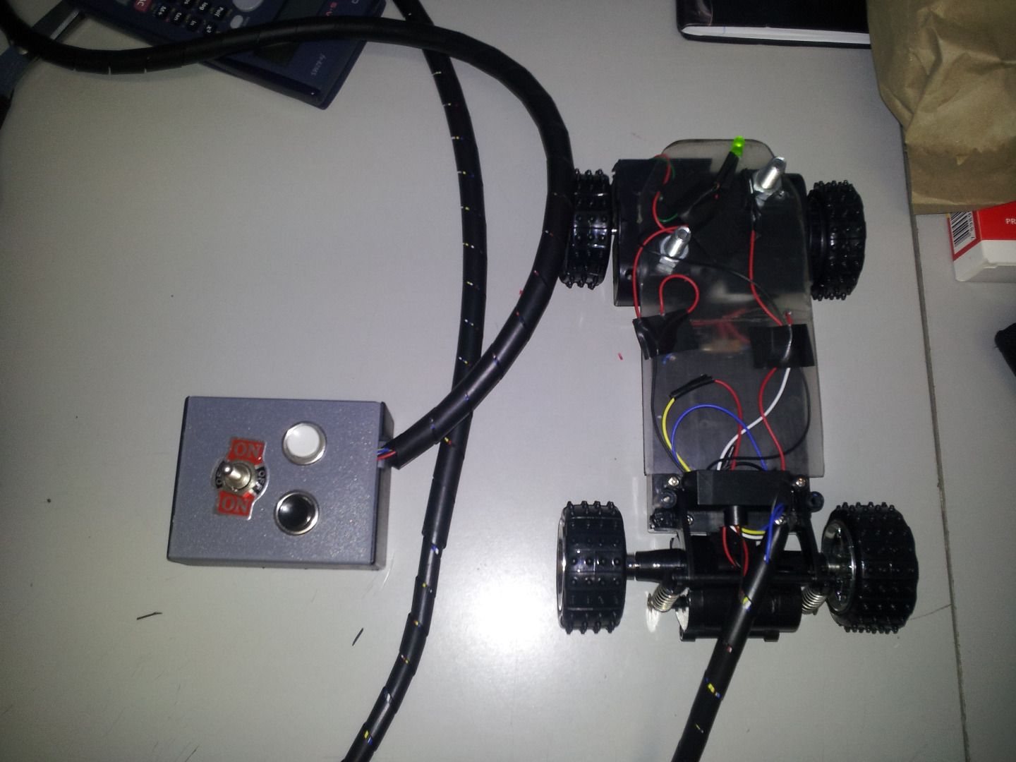 Picture of Toy Car With DTST Switch