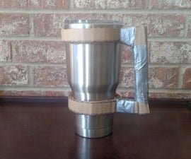 Cardboard Handle for Insulated Cups
