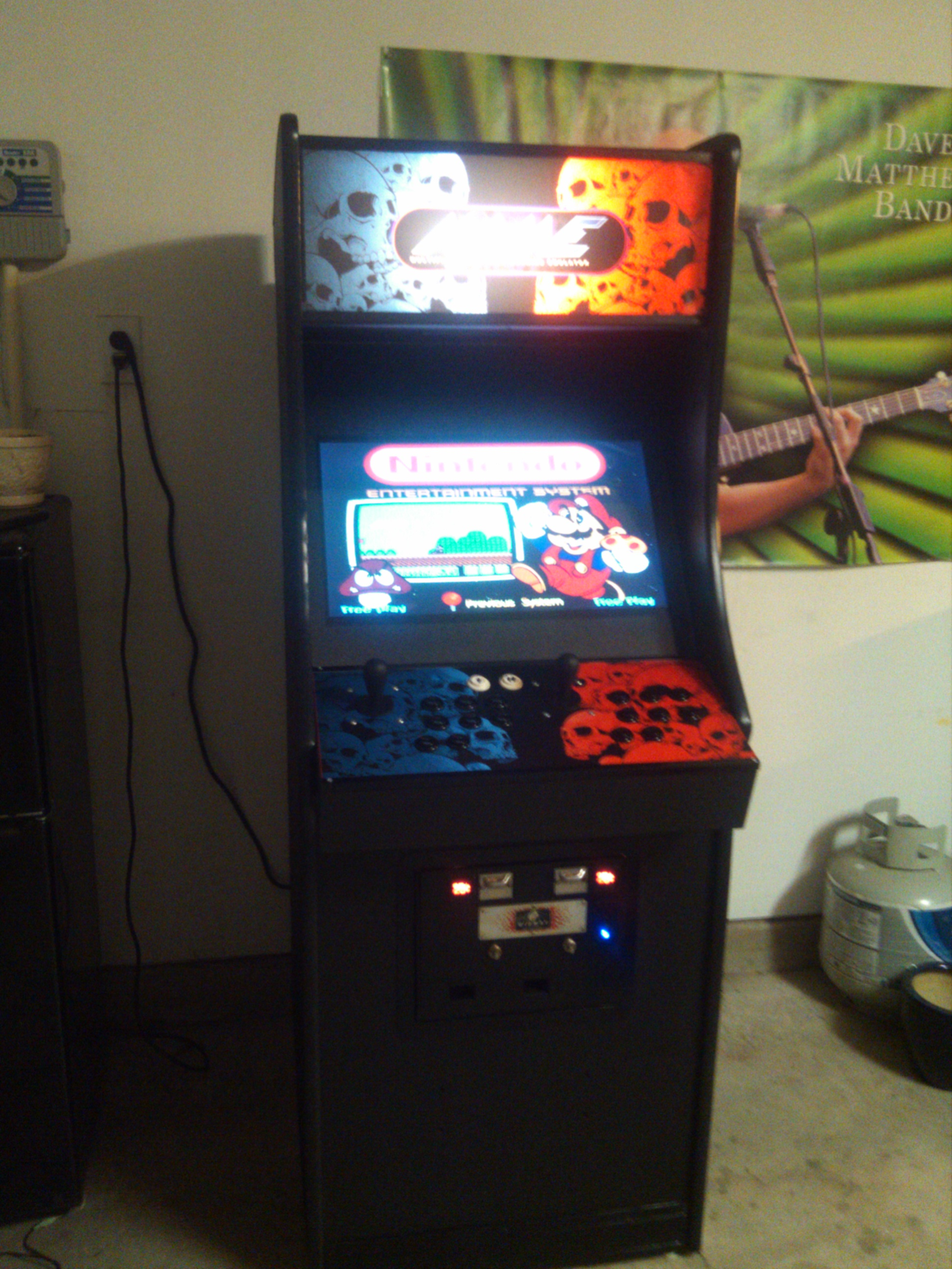 Diy home arcade machine 9 steps with pictures picture of diy home arcade machine solutioingenieria Choice Image