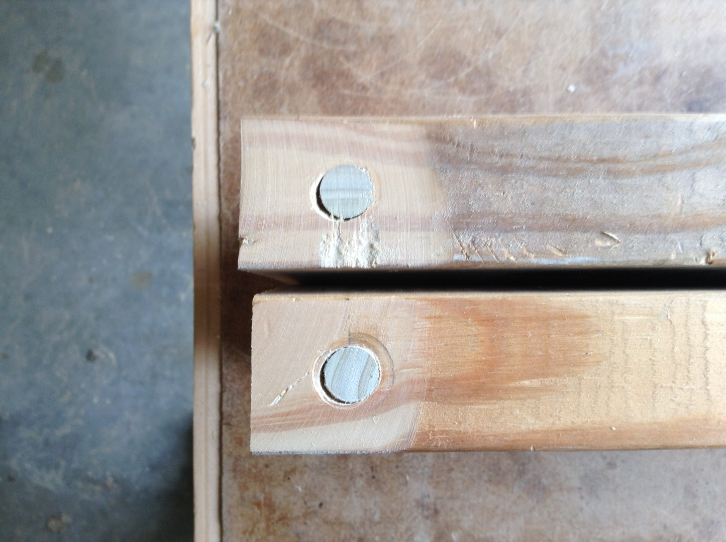 """Picture of Add the 2x6"""" Crosspieces"""