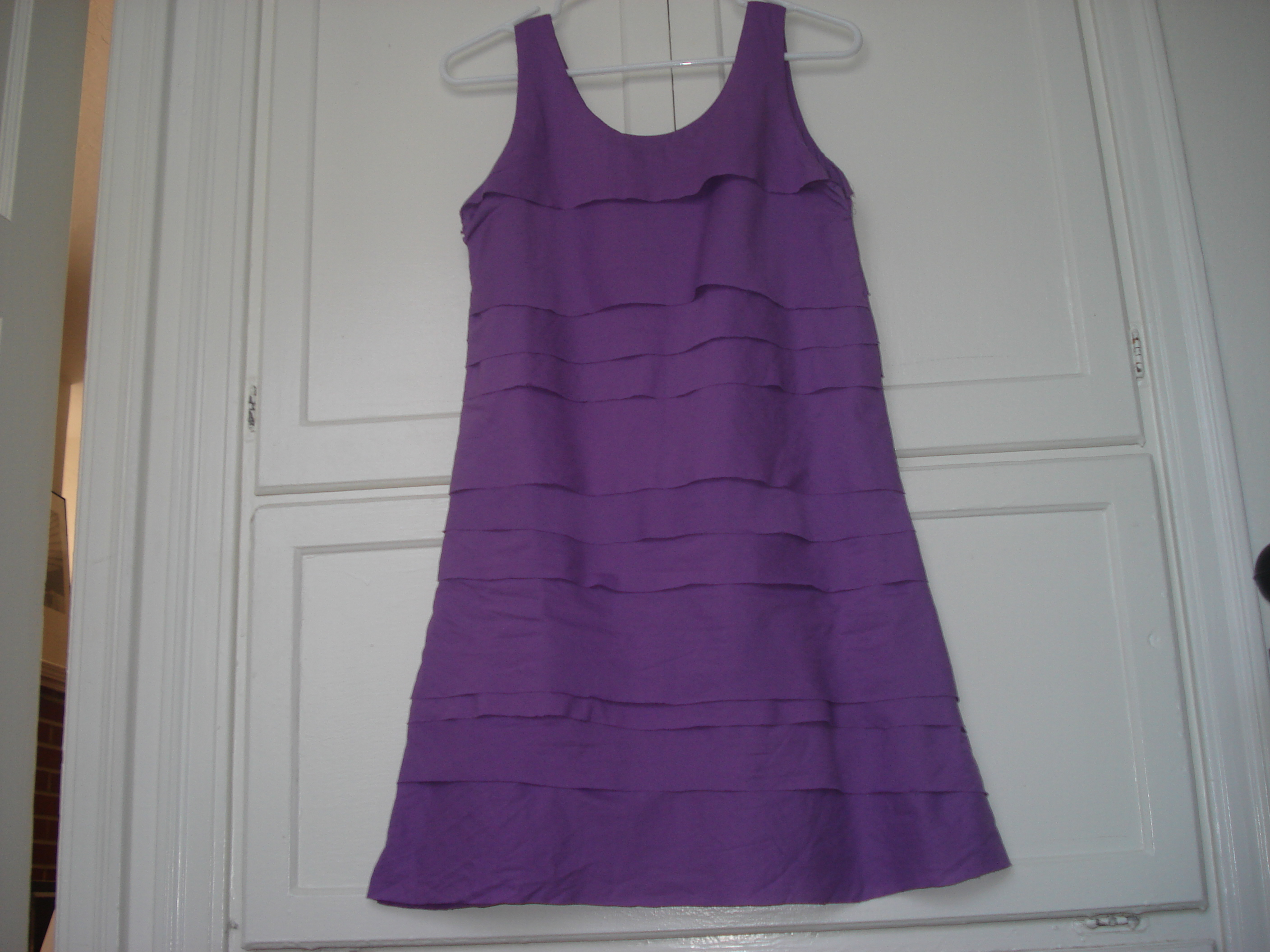 Picture of Shutter-Pleat Shift Dress