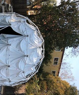 Magnetic Geodesic Planetarium
