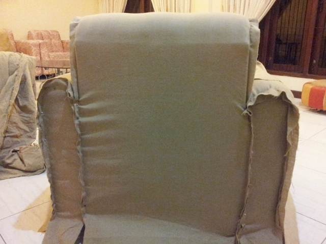 Picture of Sewing the Back Arm Rest Panel