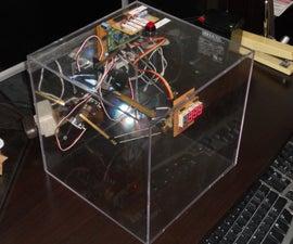 Delta Robot Clock