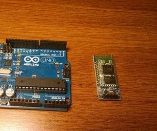 Add Simple Bluetooth to Arduino
