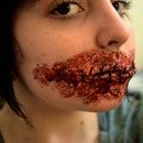 Sewn Mouth FX Makeup Tutorial