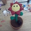 Cute Polymer Clay Flower