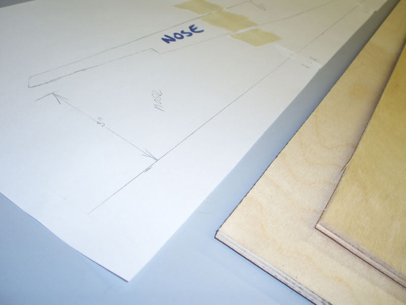 Picture of Stick the Frame Plans to Your Plywood and Cut Out.