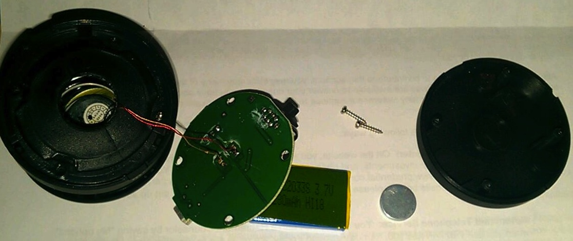 Picture of Disassemble Speaker