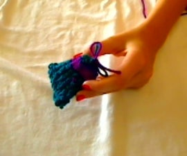 How to Crochet a Drawstring Bag