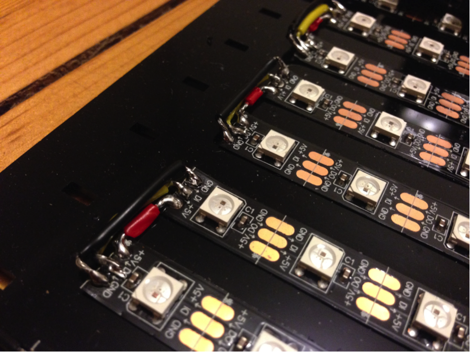 Picture of Assembling the Back Plate