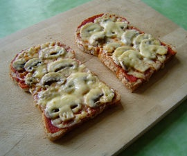 Pizza ready in 2 minutes