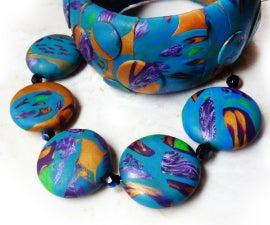 Polymer Clay Laminate Gemstone Jewelry