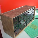 Apothecary Chest from Cheap Plastic Parts Bin