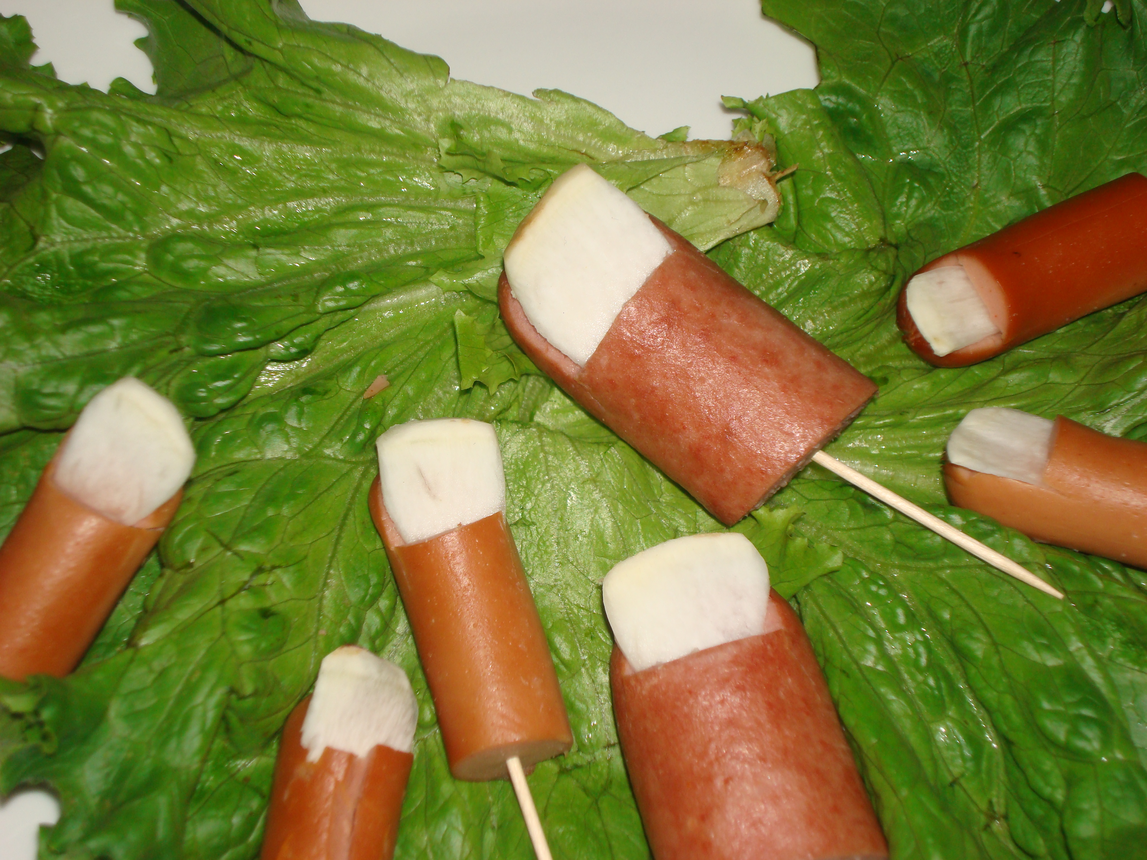 Picture of Joe's Toes ( Hot Dogs on a Stick)