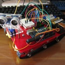 My Sixth Project: Smart Tank Chassis with Ultrasonic Sensor