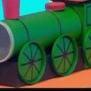 Train Pencil Pot