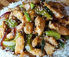 Black Pepper-Garlic Chicken