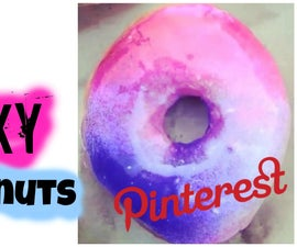 DIY Galaxy Donuts | Mirror Cake Icing - Pinterest TESTED!