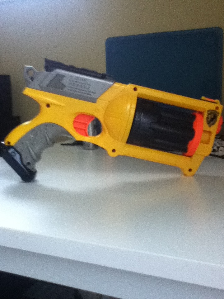 Picture of How to Give Your Nerf Maverick More Power