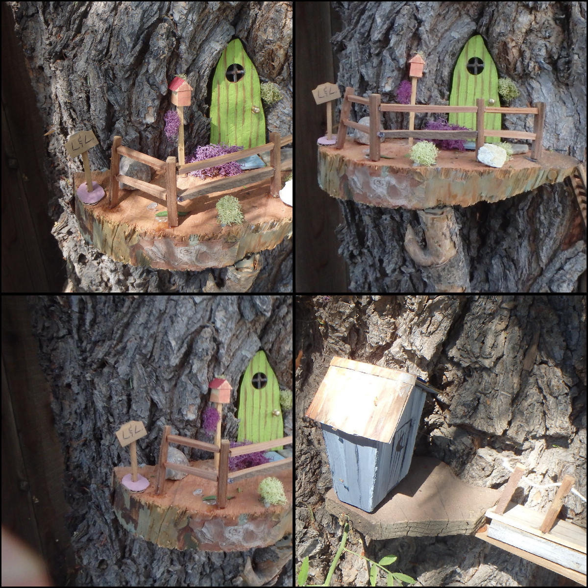 Picture of Make a FairyLand in a Tree