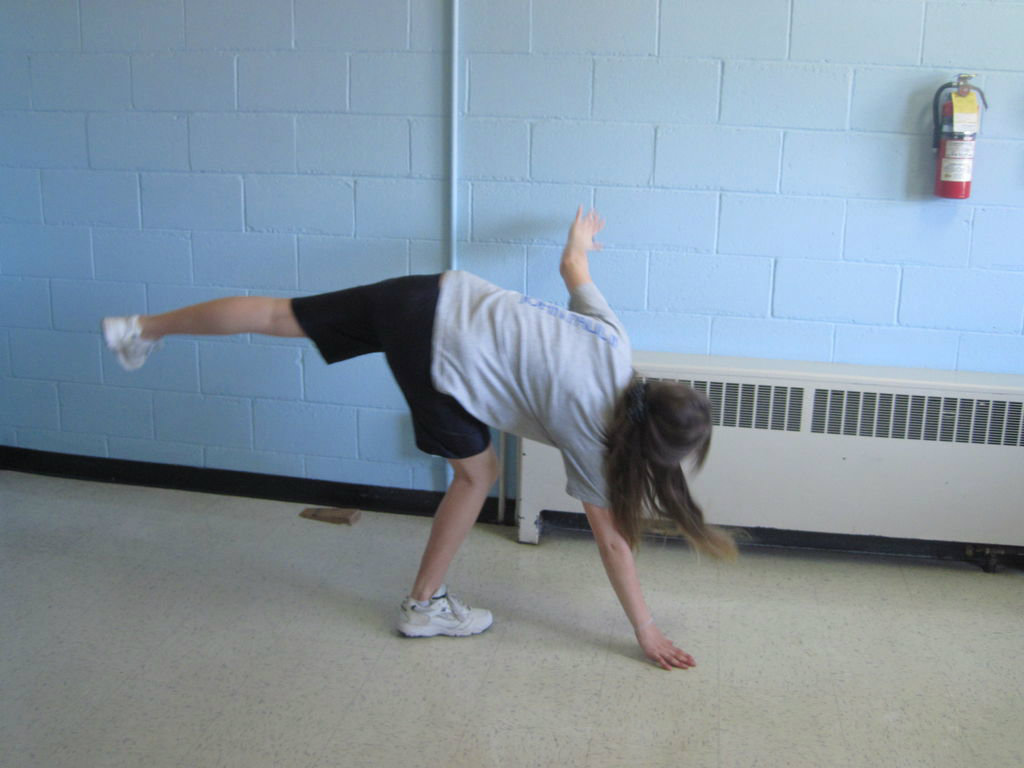 Picture of Starting Your Cartwheel