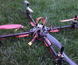 Sturdy Quadcopter Build