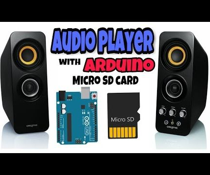 Audio Player Using Arduino With Micro SD Card: 7 Steps (with