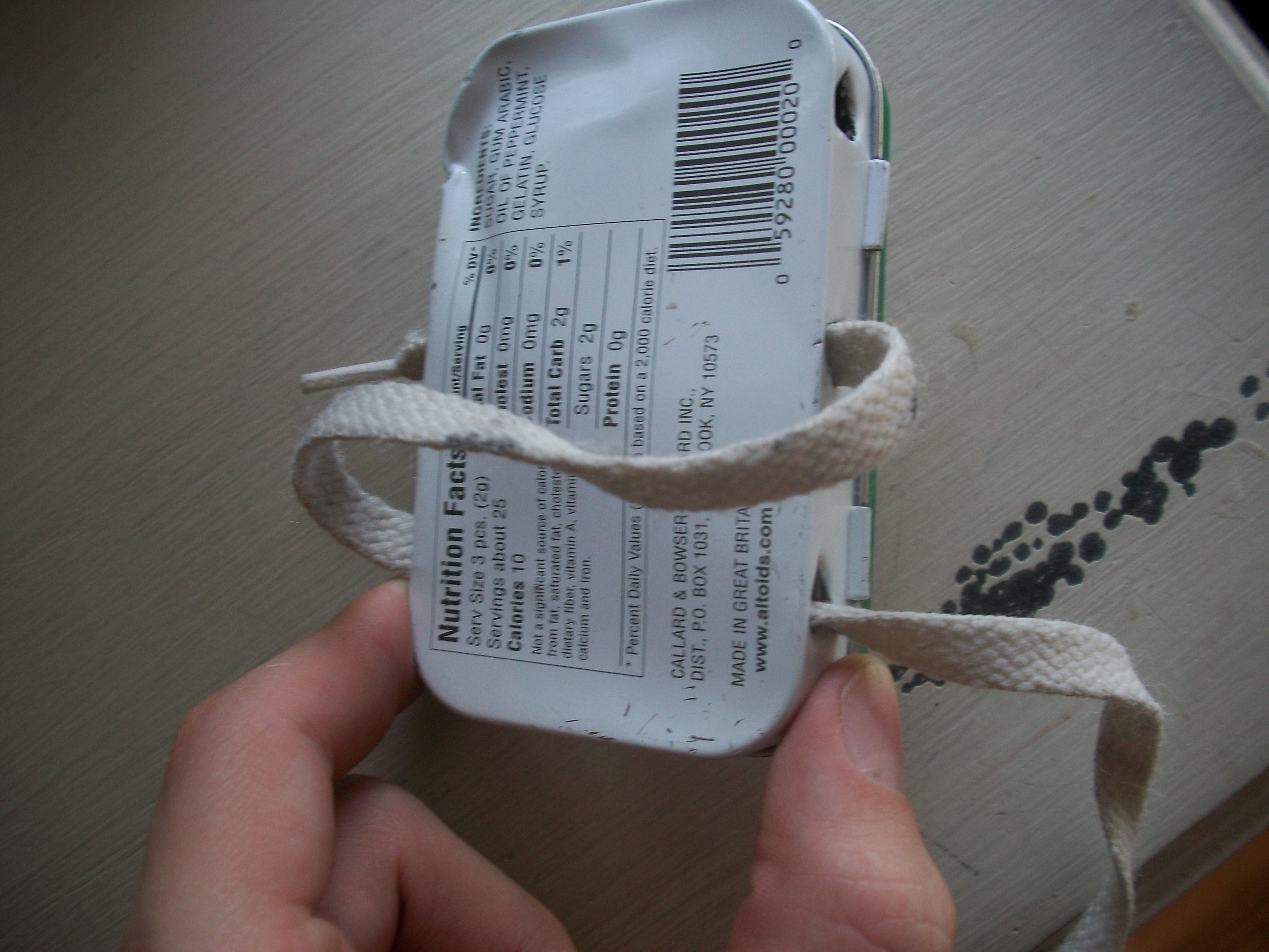 Picture of Adding in the Shoelaces