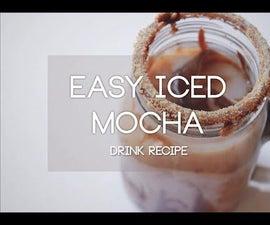 Easy Iced Mocha Tutorial