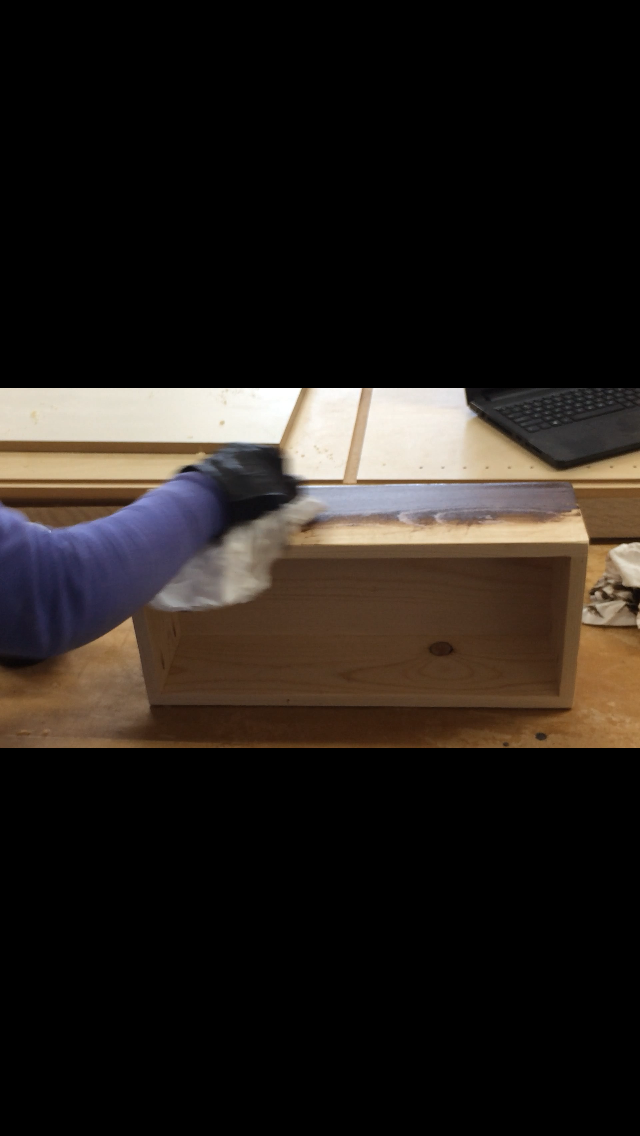 Picture of Step 8: Stain Wooden Box