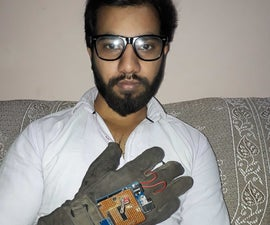 Gesture Controlled Robotic Car
