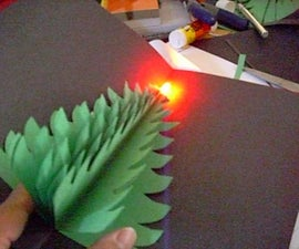 Pop Up LED Christmas Tree