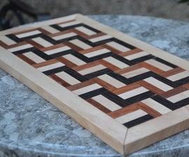 Handcrafted 100-piece Segmented Cutting Board!