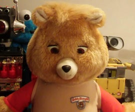 Build a Bluetooth Teddy Ruxpin Robot