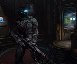 The Seeker Rifle from Dead Space 2