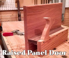 ​A Raised Panel Door Jig